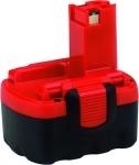 Аккумулятор тип О 14,4 В, 24 Ач NiCd, BOSCH, 2607335678