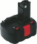 Аккумулятор 14,4 В, 2,6 Ач, Ni-MH, BOSCH, 2607335686