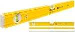Уровень тип 80А, 100 см, 1 вертикальный, 1 горизонтальный, точность 0,5 мм/м, STABILA, 16052
