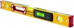 Уровень тип 196-2-M electronic IP 65, 183 см, 2 вертикальных, 1 горизонтыльный, 2 ЖК дисплея, точность 0,5 мм/м, STABILA, 17707