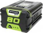 Аккумуляторная батарея G80B2, 80В 2Ач, Li-Ion, GREENWORKS, 2901207